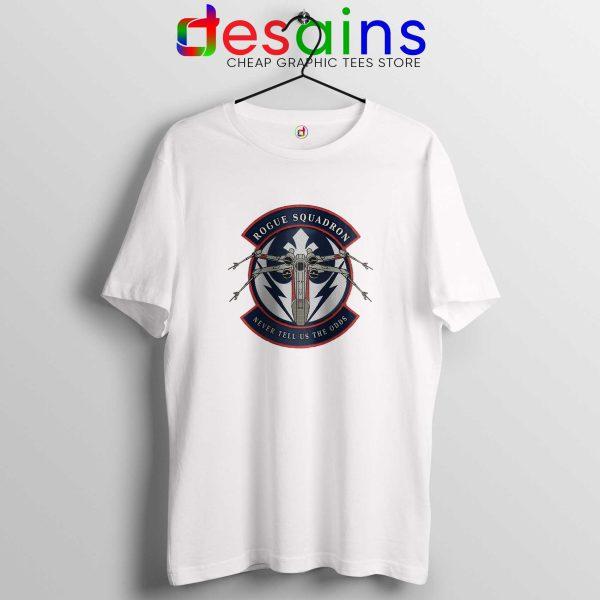 Rogue Squadron White Tee Shirt Star Wars Tshirt Size S-3XL