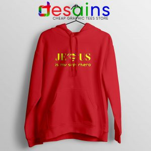 Superman Jesus Is My Superhero Hoodie Christmas Hoodies Unisex