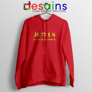 Superman Jesus Is My Superhero Hoodie Christmas Hoodies Unisex