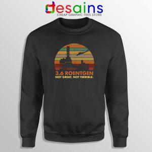 Sweatshirt 3.6 Roentgen Not Great Cheap Graphic Sweater