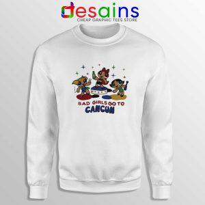 Sweatshirt Bad Girls Go to Cancun Crewneck Sweater The Powerpuff Girls