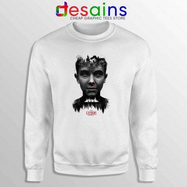 Sweatshirt The Upside Down Poster Crewneck Sweater Stranger Things