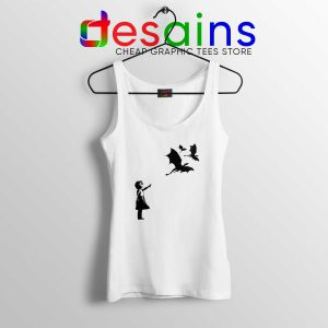 Tank Top Bansky Dragons Dracarys Game of Thrones Size S-3XL