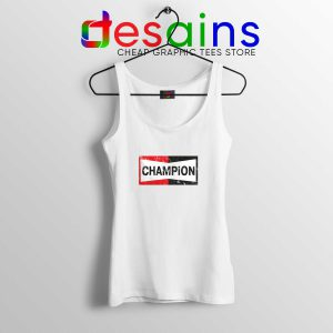 Tank Top Champion Spark Plugs American Brand of Spark Plug S-3XL