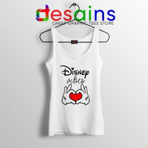 Tank Top Disney Vibes Mickey Mouse Love Hands Size S-3XL
