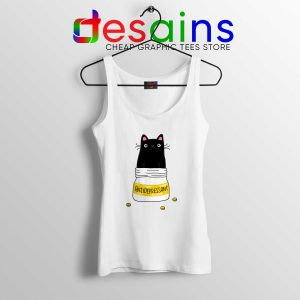 Tank Top Fur Antidepressant Cat Funny Cheap Custom Tank Tops Cat