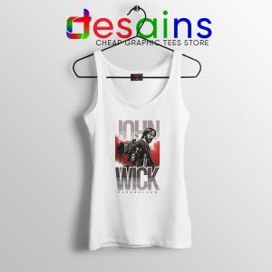 Tank Top John Wick Chapter 3 Parabellum Tank Tops Size S-3XL