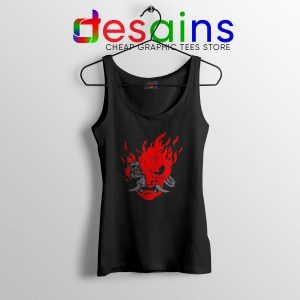 Tank Top Samurai Demon Slim Cyberpunk 2077 Game Video S-3XL