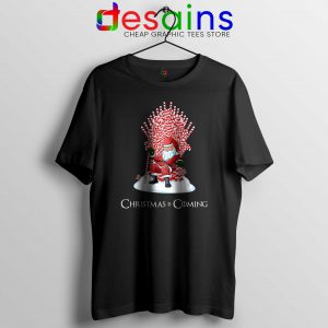 Tshirt Christmas Is Coming Santa Tee Shirt Game of Thrones Size S-3XL