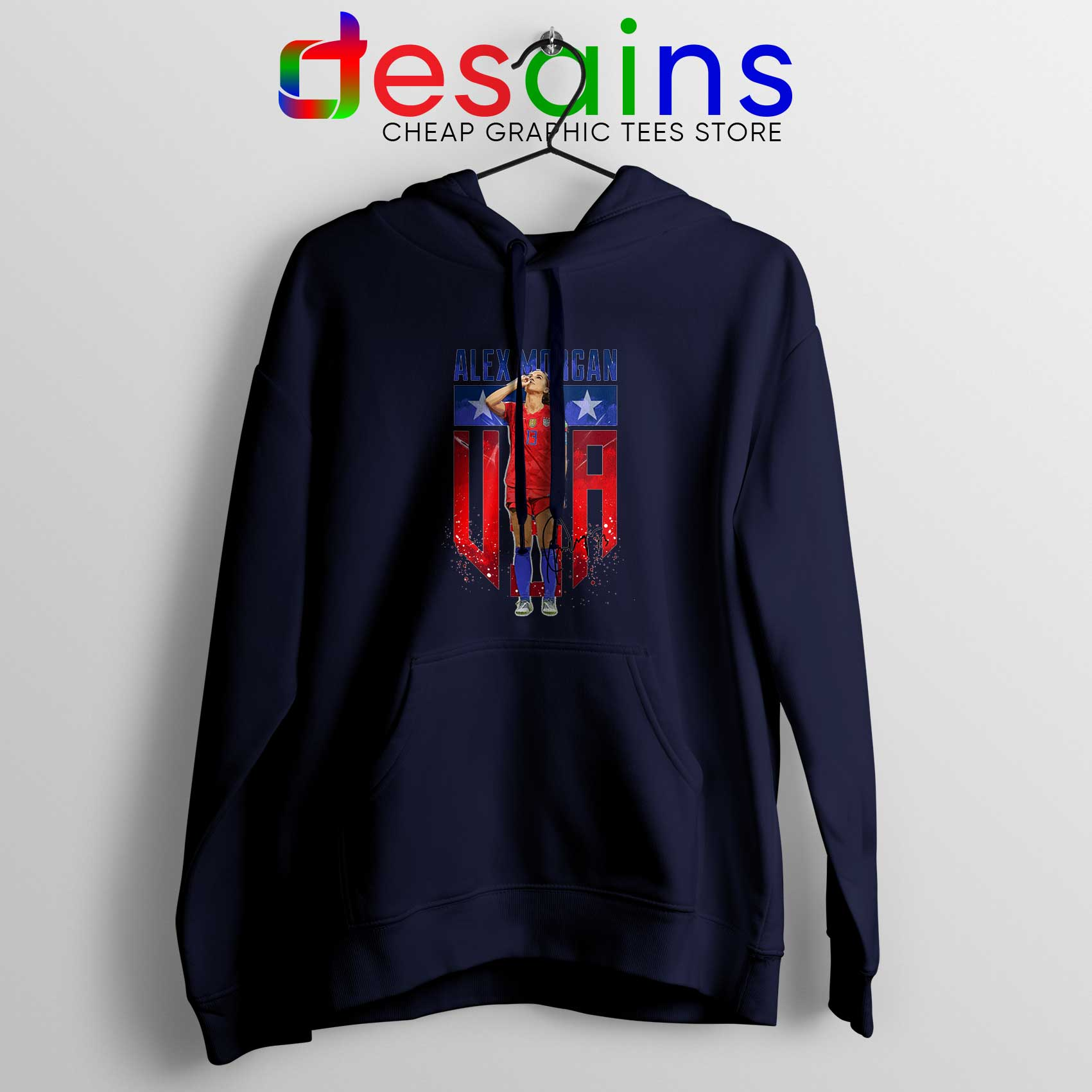 check out 32757 db6b6 Alex Morgan Sipping Tea Hoodie Cheap Hoodies Alex Morgan Merch