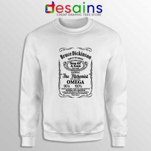 Bruce Dickinson Son Of A Gun Sweatshirt Crewneck Bruce Dickinson Shirt