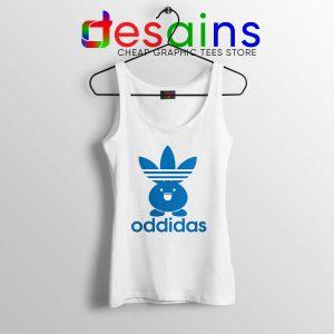 Buy Tank Top Oddidas Oddish Pokemon Adidas Classic Logo Tanks Funny