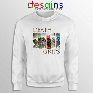 Cheap Bionicle Toa Mata Sweatshirt Death Grips Crewneck Sweater
