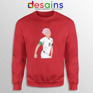 Cheap Megan Rapinoe Sweatshirt Soccer Midfielder USA Sweater