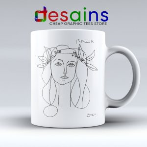 Francoise Gilot Sketch Picaso Mug Best Ceramic Coffee Mugs