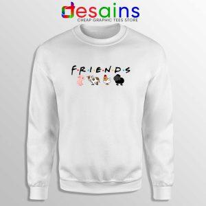 Friends Not Food Sweatshirt Cheap Sweater Funny Vegan Friends