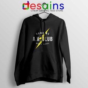Hawkins AV Club Hoodie Cheap Graphic Hoodies Stranger Things Gifts
