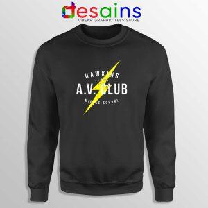 Hawkins AV Club Sweatshirt Custom Sweater Stranger Things Merch