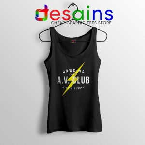 Hawkins AV Club Tank Top Stranger Things Store Tank Tops Netflix