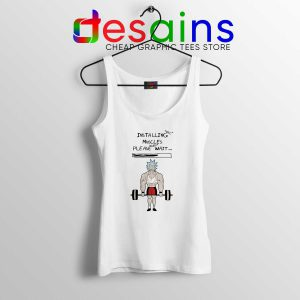 Installing Muscles Rick Morty Tank Top Rick and Morty American Sitcom
