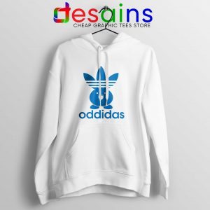 Oddidas Oddish Pokemon Hoodie Adidas Classic Logo Cheap Hoodies