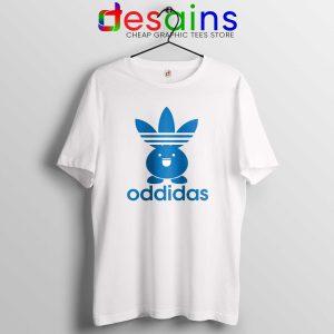 Oddidas Oddish Pokemon Tee Shirt Adidas Classic Pokemon Tshirt