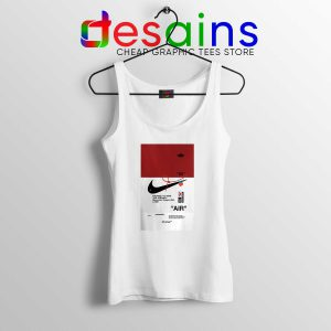 Off White Shoes Air 85 Tank Top Cheap Tank Tops OffWhite Sale