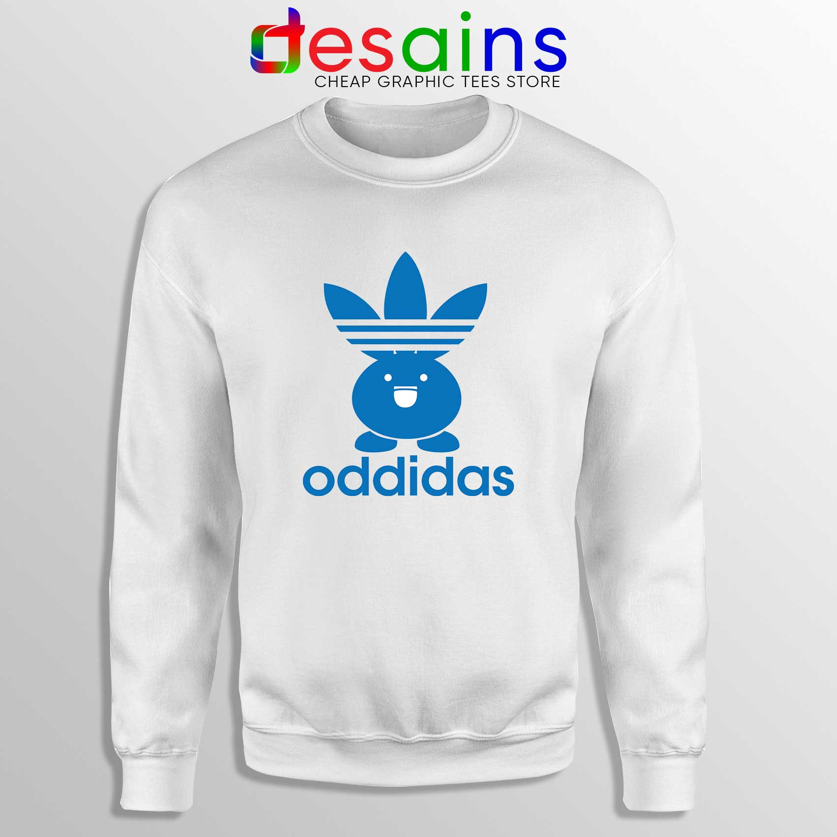 Sweatshirt Adidas Classic Sweater Cheap Oddidas Pokemon Oddish wN8m0n