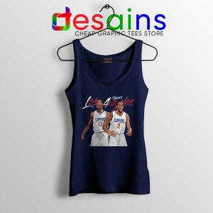Tank Top Kawhi Leonard Paul George Cheap Tank Tops LA Clippers NBA