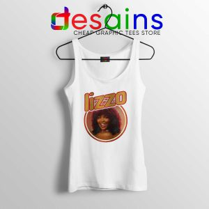 Tank Top Lizzo American Singer Vintage Merch Tank Tops Graphic Shirts