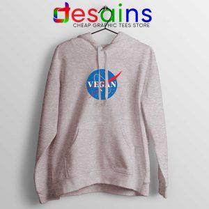 Vegan Nasa Logo Hoodie Veganism Shirt Hoodies Adult Unisex