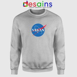 Vegan Nasa Logo Sweatshirt Veganism Cheap Crewneck Sweater