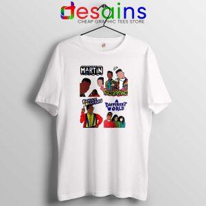 90s Martin Sitcom Mashup Tshirt Cheap Graphic Tee Shirts Martin