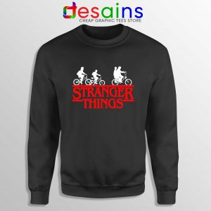Bikes Stranger Things Sweatshirt Cheap Stranger Things Graphic Sweater