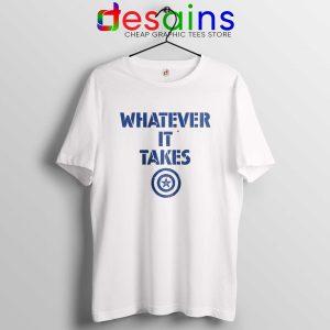 Captain America Whatever It Takes Tshirt Avengers Endgame Tee Shirts