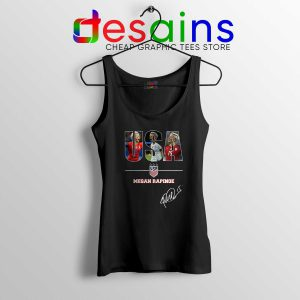 Cheap Tank Top Megan Rapinoe Signature USA Womens Soccer Team