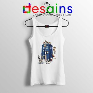 Doctor Who Cats Tardis Tank Top Doctor Mew Cats Tardis Tank Tops