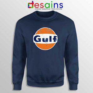 Gulf Racing Retro Sweatshirt Cheap Gulf Oil Logo Sweater