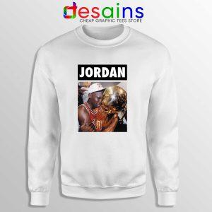 Michael Jordan Championship Trophy Sweatshirt Cheap Sweater NBA