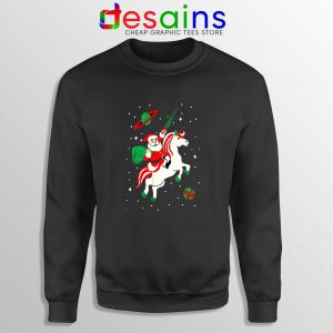 Santa Unicorn Ugly Christmas Sweatshirt Cheap Funny Unicorn Sweater