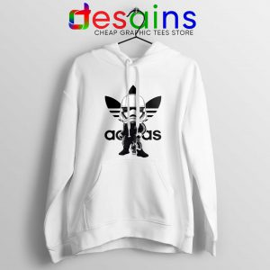 Stormtrooper Star Wars Adidas Hoodie Three Stripes Logo Hoodies