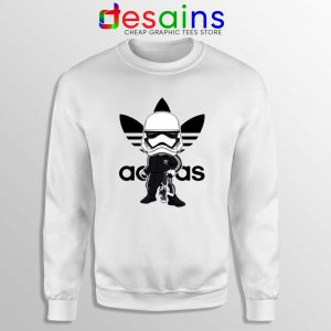 Stormtrooper Star Wars Adidas Sweatshirt Cheap Sweater Three Stripes