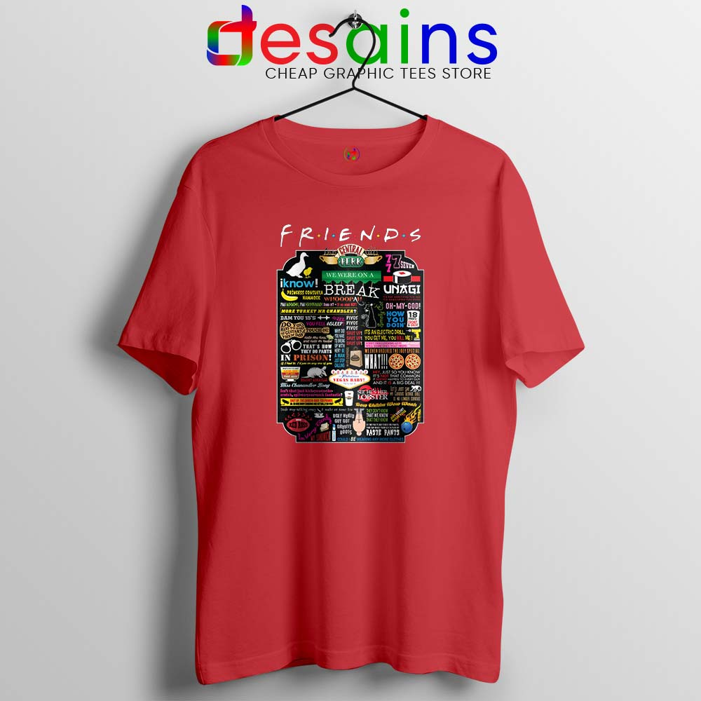 Friends TV Show Quotes Tshirt The Best Friends Quotes Tees Shirts
