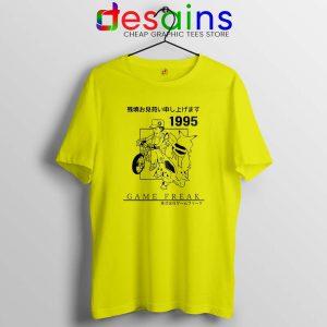 Pokemon 1995 Aesthetics Vintage Tshirt Cheap Pokemon Tees Shirts