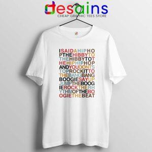 Rappers Delight Tshirt The Sugarhill Gang Tee Shirts GILDAN S-3XL