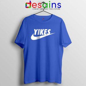 Yikes Just Do It Tshirt Funny Tee Shirts Yikes Nike Parody S-3XL