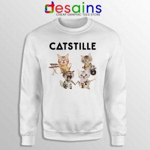 Catstille Band Bastille Cats Sweatshirt Funny Bastille Sweater S-3XL
