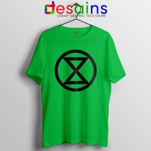 Extinction Rebellion Logo Tshirt Climate Tee Shirts S-3XL