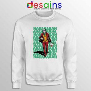 Mr Fleck Hahaha Joker Sweatshirt Film Joker 2019 Sweater S-3XL