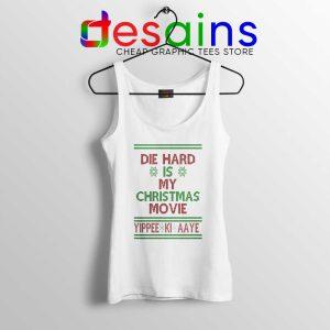 Die Hard is my Christmas Movie Tank Top Ugly Christmas Tops S-3XL